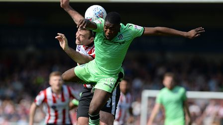 Olamide Shodipo, who is on loan at Oxford from QPR, is pictured during his loan days at Colchester United. Picture: PAGEPIX