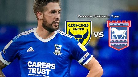 Ipswich Town take on Oxford United this evening. Picture: ROSS HALLS