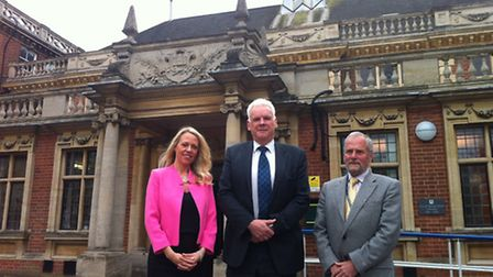 City of Norwich School will become an academy sponsored by Ormiston Academies Trust. Left to right: