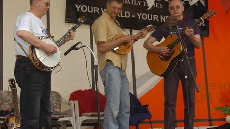 Music at Mendlesham Street Fair in 2005 Picture: CLIFFORD HICKS/ARCHANT