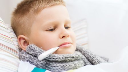 Parents and carers have been urged to ensure children aged between two and three get their flu vaccines. Picture: Getty...