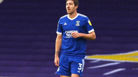Stephen Ward during the Blues' 2-1 win over Shrewsbury Town Picture: Ross Halls