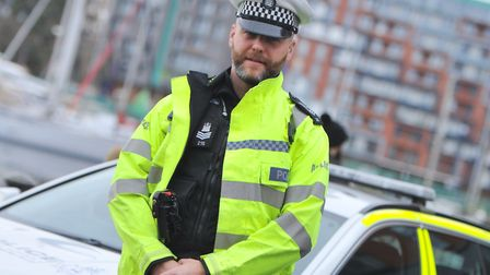 The police sergeant has urged others to seek help if they need it Picture: SARAH LUCY BROWN