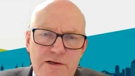 """Mayor John Biggs' online cabinet meeting... """"We have a massive housing crisis, but have to recognise people's desires.""""..."""