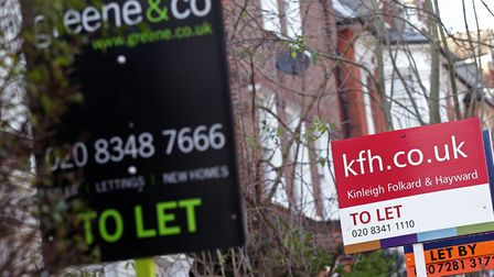 Council housing shortage forces many to move out of East End and rent privately. Picture: Renters' campaign