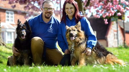 Damon and Mel Harris from Swanton Morley have set up their own dog rescue centre called the Eastern