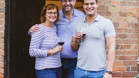 The team at Nethergate Wines who are opening a new retail shop on Hall Street in Long Melford selling wines, spirits, beer...