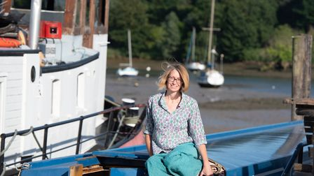 After living across Europe, Bev made the move to Woodbridge - and hasn't looked back Picture: SARAH LUCY BROWN