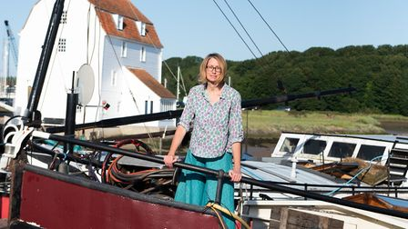 Living in Woodbridge provides Bev and her family with amazing Suffolk views Picture: SARAH LUCY BROWN