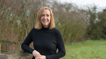 Emma Easter has started a new business making soap after being made redundant from the motor trade. Picture: SARAH LUCY...