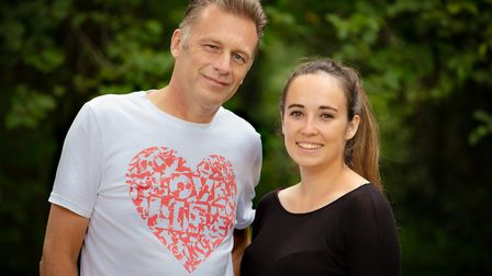 Chris Packham and Megan McCubbin hosted the Love Minsmere: Live event on Friday, November 27. Picture: DAVID TIPLING