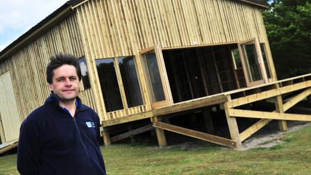 Adam Rowlands from the RSPB Picture: ARCHANT