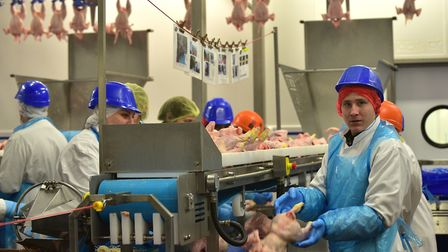 The 2 Sisters Food Group factory in operation in Flixton Picture: SARAH LUCY BROWN