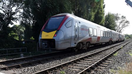 Greater Anglia trains have coped with the leaf-fall season this year. Picture: CHARLOTTE BOND