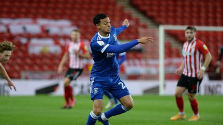 Andre Dozzell is available again today after serving a three-game ban for his controversial red card at Sunderland. Photo:...