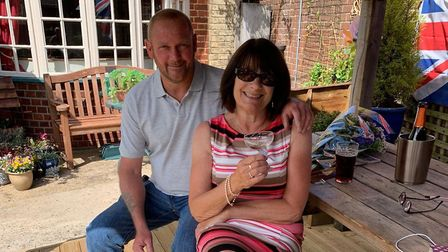 Shirley and Karl Barber are preparing to leave The Railway Inn Picture: SHIRLEY BARBER