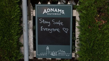 The Railway Inn has received a lot of support during lockdown Picture: SARAH LUCY BROWN