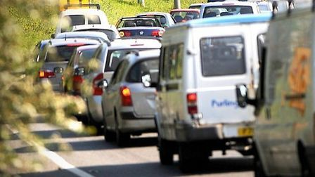 A rolling road block on the A14 westbound carriageway is disrupting traffic. Stock image. Picture: GREGG BROWN