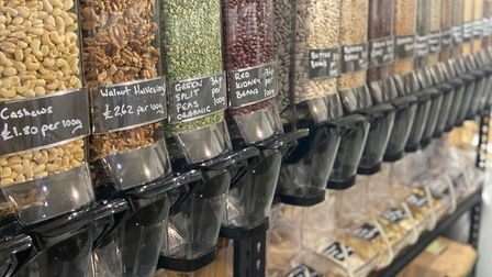The Adore Nature shop in Hadleigh high street sells lots of refillable dry foods. Picture: KATHY ATTARD