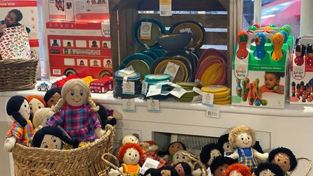 The Adore Nature shop in Hadleigh sells second-hand toys among its various products. Picture: KATHY ATTARD