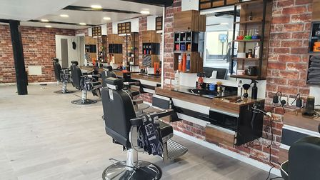 Istanbul Barbers Hadleigh is opening in the old Boots store in the High Street. Picture: OMER KAPLAN
