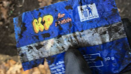 Jason Alexander has found lots of rubbish dated over 30 years old on his litter picks. Picture: JASON ALEXANDER