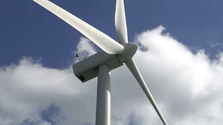 Library picture of a wind turbine; Picture: James Bass.