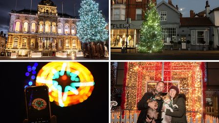 Our photographers bring Suffolk's Christmas lights to you from Bury St Edmunds, Ipswich, Woodbridge, Aldeburgh and...
