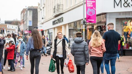 M&S wants to provide their customers with a safe way to shop this Christmas with longer opening hours. Picture: SARAH LUCY...