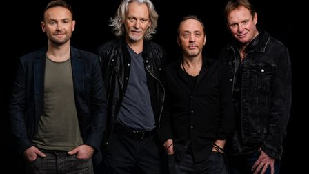 Wet Wet Wet with new singer Kevin Simm. The band will be touring to Bury St Edmunds next year and releasing a new album...