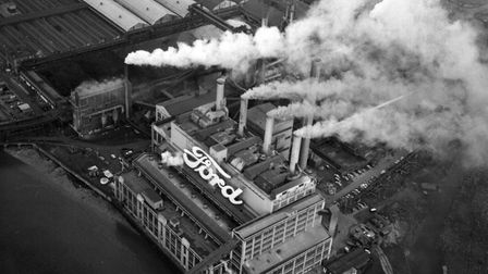 The Ford Dagenham factory pictured in 1972, shortly before Stephen Goodwright began working there. Picture: PA Archive