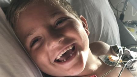 """""""Always smiling"""" Charlie Nicholls, aged six, was an inspiration to many people. He tragically died six weeks ago from gut..."""