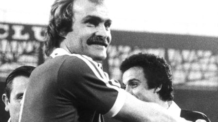 Mick Mills, who features in both Town's Top Five right-backs, and Top Five left-backs, of the last 40 years