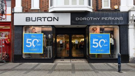 Philip Green's Arcadia group is on the brink of collapse, putting shops like Burton and Dorothy Perkins in Felixstowe at...