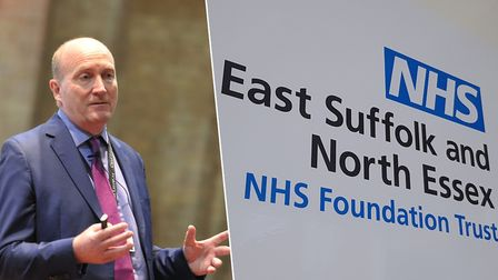 Nick Hulme, chief executive of the East Suffolk and North Essex NHS Foundation Trust, which runs Ipswich and Colchester...