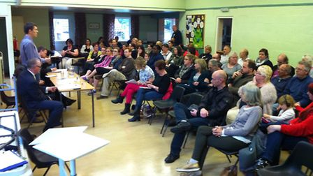 Public meeting about the future of Cavell Primary School, May 1, 2014