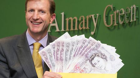 Carl Lamb of independent financial advisers Almary Green. Picture: Submitted