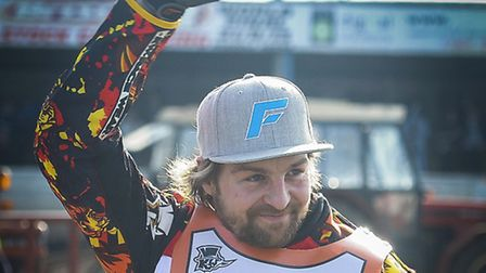 Former Stars' favourite Mads Korneliussens returns to the Norfolk Arena tonight, with Leicester. Pic