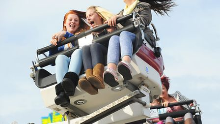 The traditional Great Yarmouth Easter Fair held in the Market Place.Picture: James Bass
