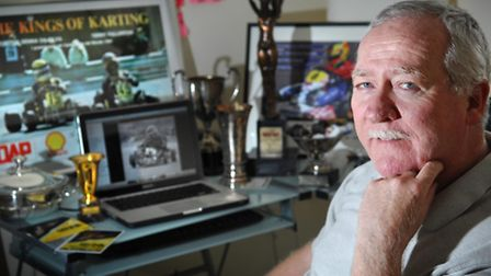 Terry Fullerton, of Costessey, is the ex-karting driver Ayrton Senna called the greatest driver he e