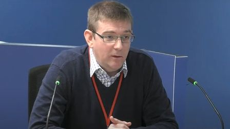 Jamie Hayes, a former member of Celotex's technical team