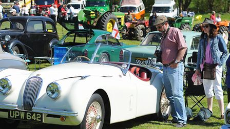 Thousands of people enjoyed last year's Classic Vehicle Rally and Country Fayre at Earsham Hall.