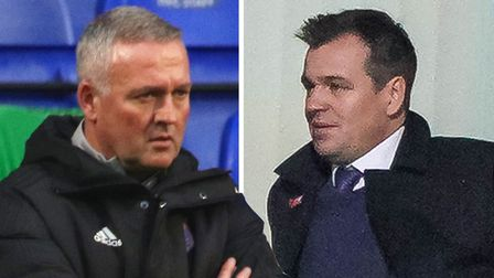 Ipswich Town general manager Lee O'Neill has discussed manager Paul Lambert's job security. Picture: STEVE WALLER