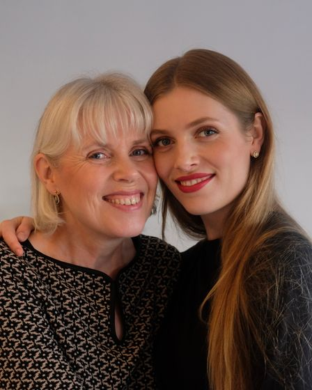 Juni Cosmetics owners Suzanne and Madeleine White