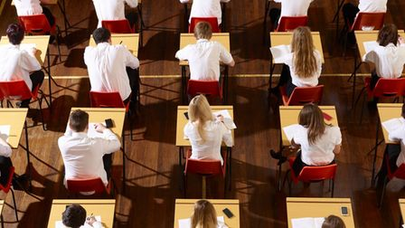 Exams were cancelled this summer amid the coronavirus pandemic.
