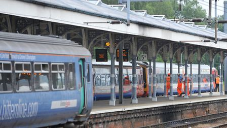 Norwich station. Labour candidates are calling for the rail industry to be renationalised