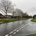 Looking down Ellough Road in Beccles.