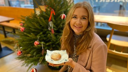 EDP reporter Emily Thomson tried out mince piesfromTwo Magpies Bakery, on Timber Hill.