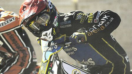 Niels-Kristian Iversen at the tapes. Picture: Ian Burt