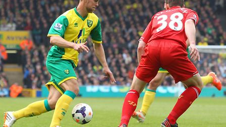 Steven Whittaker aims to take his chance in Norwich City's first team. Picture by Paul Chesterton/Fo